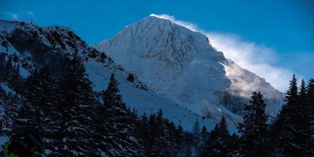 En Suisse, un Français tué et deux blessés dans une avalanche (Photo d'illustration prise en Suisse le...
