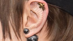 Cara Delevingne est apparue avec des oreilles très