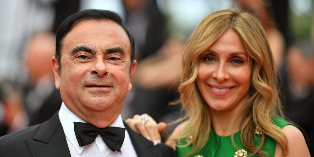 Carlos et Carole Ghosn au Festival de Cannes