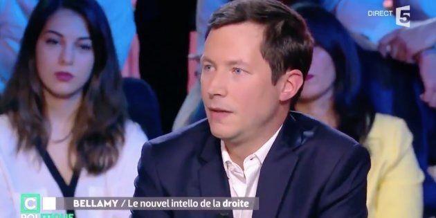 François Xavier Bellamy sur le plateau de C Politique sur France 5 en janvier