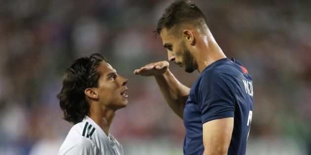 Diego Lainez a subi les moqueries de Matt Miazga durant l'amical Etats-Unis -
