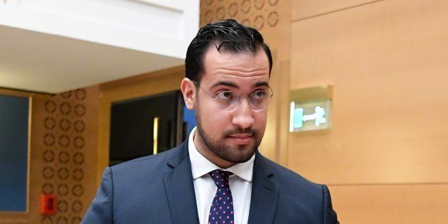 Alexandre Benalla le 19 septembre lors de sa première audition devant les