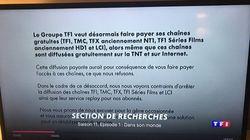 L'arrêt brutal de la diffusion de TF1 par Canal+ en a exaspéré plus