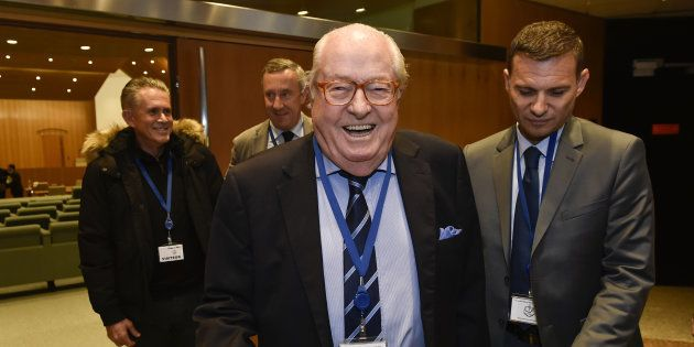 Jean-Marie Le Pen au Luxembourg le 23 novembre