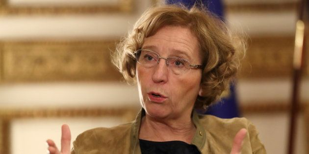 Muriel Pénicaud dans son bureau à Paris, le 15