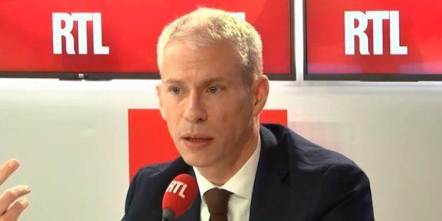 Franck Riester est revenu sur RTL sur les violences commises contre les journalistes depuis des