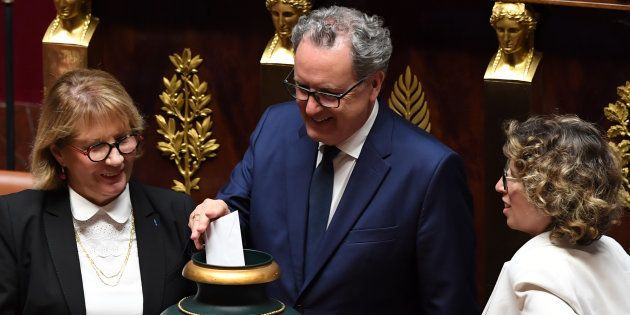 Richard Ferrand a été élu sans surprise président de l'Assemblée