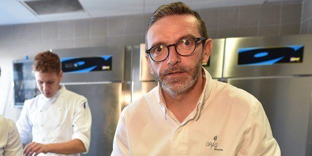 Sébastien Bras a la surprise de voir le nom de son restaurant réapparaître dans l'édition du guide Michelin