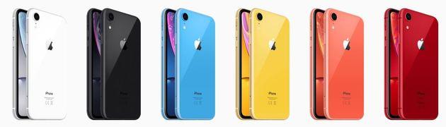 iPhone Xr: Les caractéristiques qui font du nouveau low cost d'Apple un hybride entre le Xs Max, le X...