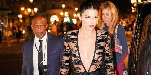 Kendall Jenner éblouissante aux 70 ans de la maison Longchamp à l'opéra