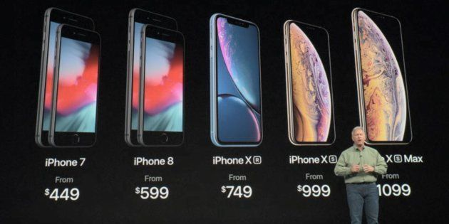 iPhone Xr: Comment le nouvel iPhone X low cost se situe par rapport au reste de la gamme