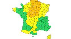 24 départements en vigilance orange pour neige et
