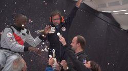 Pour qu'Usain Bolt boive du champagne en apesanteur, il a fallu inventer une bouteille bien