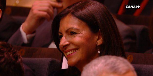 Anne Hidalgo, salle Pleyel, lors de la cérémonie des César