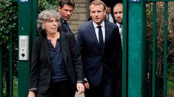Macron à la veuve de Maurice Audin: