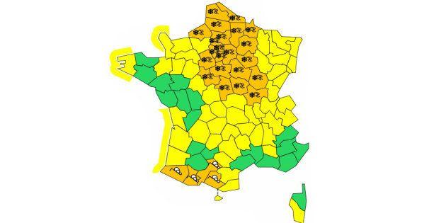 D'après le bulletin de Météo France en date du 23 janvier au matin, l'épisode neigeux