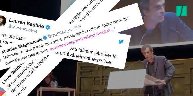 Raphaël Enthoven et son long monologue à l'université d'été du féminisme sont très mal