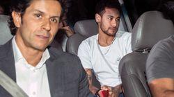 L'opération de Neymar au Brésil