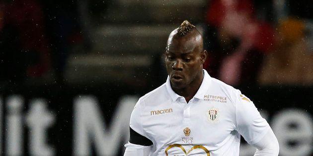 Marion Balotelli sous le maillot de Nice contre Guingamp en