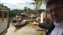 Face à Macron, Mélenchon rêve de revanche en Guyane, Wauquiez à