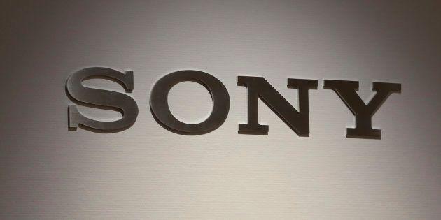 This Nov. 15, 2018, photo shows a Sony logo at its showroom in Tokyo. (AP Photo/Koji