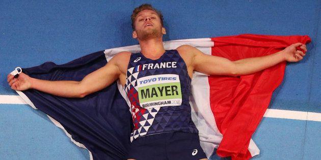 Kévin Mayer sacré champion du monde de l'heptathlon en