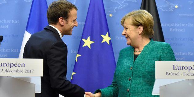 Accord Merkel-SPD en Allemagne: Macron salue
