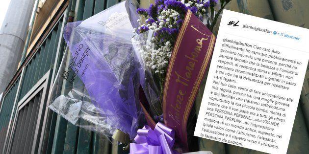 Mort de Davide Astori: l'hommage poignant de Gigi