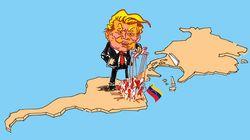Le président de l'Assemblée du Venezuela s'autoproclame président et Trump le
