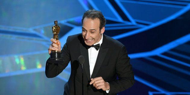 Alexandre Desplat remporte l'Oscar de la meilleure musique de film le 4 mars