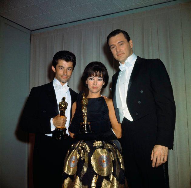 Oscars 2018: Rita Moreno ressort la robe qu'elle portait aux Oscars en... 1962, à un détail
