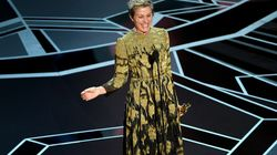 Oscar de la meilleure actrice, Frances McDormand fait lever toutes les femmes