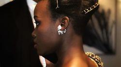 Lupita Nyong'o fait honneur à une coiffure traditionnelle du Rwanda aux