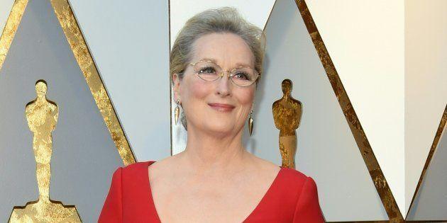 Meryl Streep à la 90ème cérémonie des Oscars le dimanche 4 mars