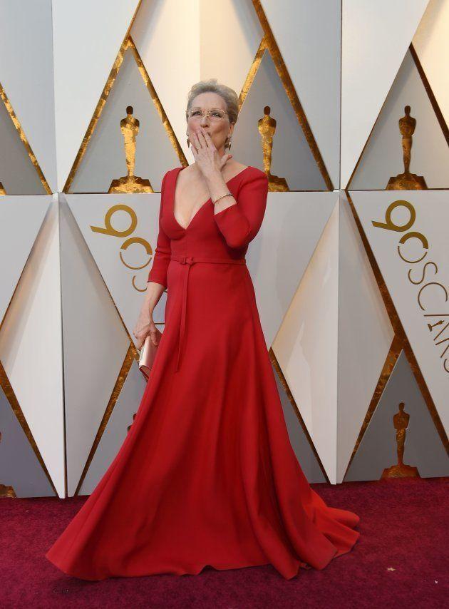 Oscars 2018: Meryl Streep porte une tenue qui rappelle celle d'un des personnages de