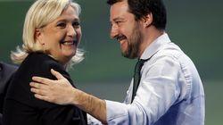 Au creux de la vague, Marine Le Pen surfe sur