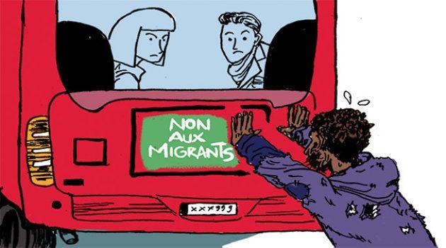 À Marseille, des migrants demandeurs d'asile empêchés de prendre le