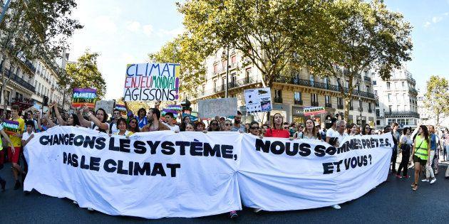 40.000 personnes ont participé à la Marche pour le climat le 8 septembre 2018 à
