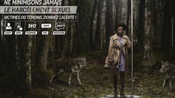Les nouvelles affiches de la RATP et la SNCF contre le harcèlement et les agressions