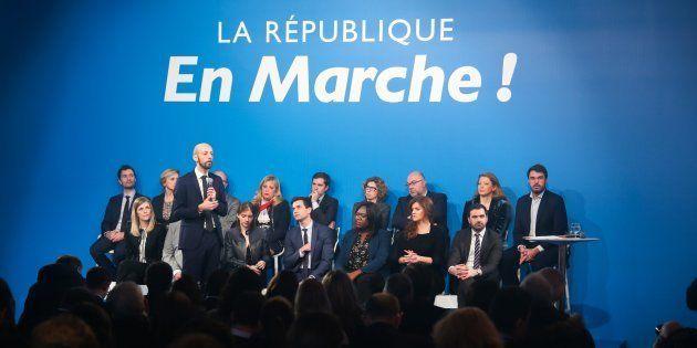 La Marche républicaine pour les libertés plonge la majorité dans l'embarras (photo prise le 24 janvier...