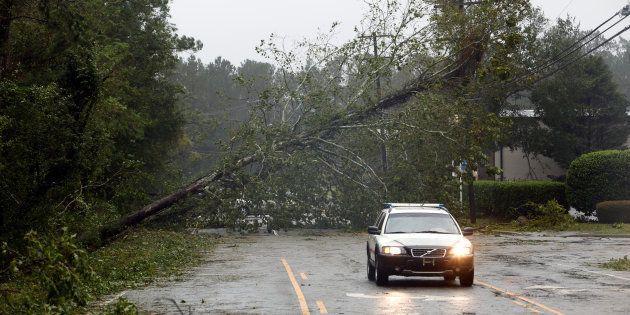 L'ouragan Florence fait ses premières victimes en Caroline du