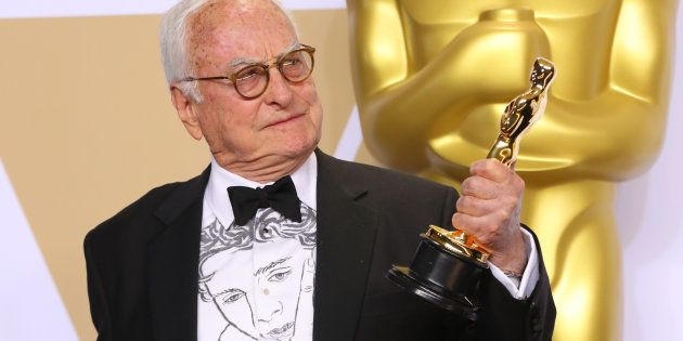 Aux Oscars 2018, Timothée Chalamet dessiné sur la chemise du scénariste