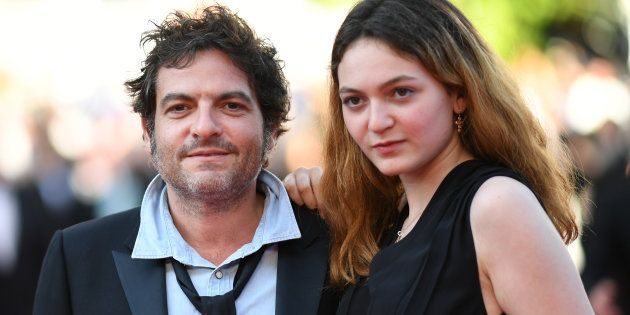 Matthieu et Billie Chedid sur le tapis rouge du Festival de Cannes en mai