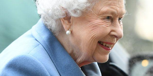 La reine Elizabeth II à son arrivée au Women's Institute, à Norfolk, ce 24