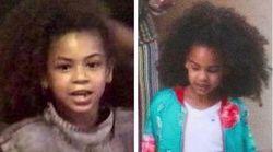 La petite Blue Ivy est le portrait craché de sa mère Beyoncé au même