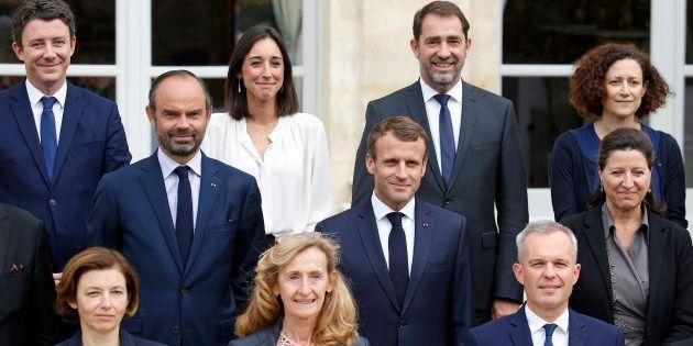 Une photo du gouvernement prise à l'Élysée le 17 octobre