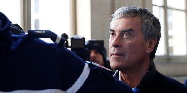 L'ancien ministre du budget Jérôme Cahuzac, lors de son procès pour fraude fiscale, à Paris, le 12 février
