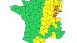 5 départements du nord-est en vigilance orange neige et