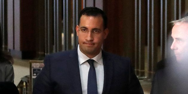 Alexandre Benalla, ici le 21 janvier au Sénat, a déclaré la perte d'un de ses passeports et d'une carte...