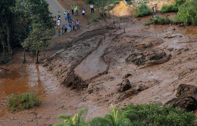 Brésil: La rupture d'un barrage fait au moins 34 morts et près de 300